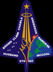 180px-STS-107_Flight_Insignia_svg