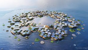 Sustainable Floating Cities Might be the Answer to Rising Sea Levels